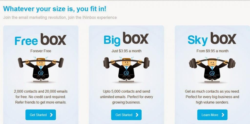 INinbox pricing