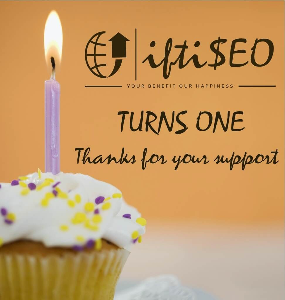 iftiSEO Turns One