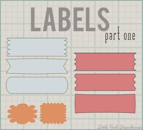 Label blogging tip