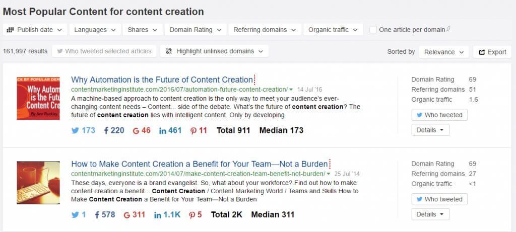content-creation-results-content-explorer