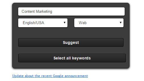 Content Marketing Ubersuggest