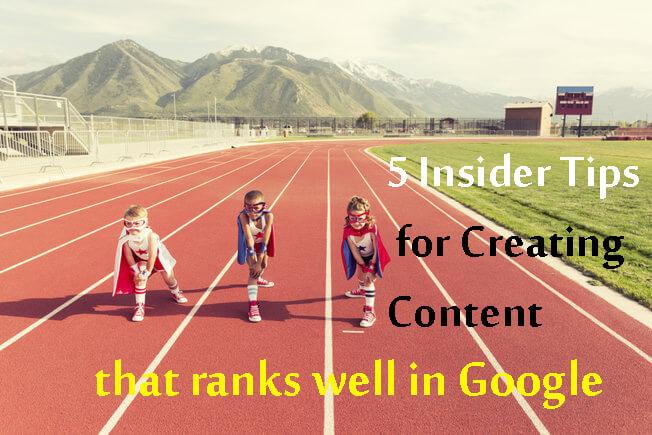 create seo content